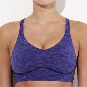 Lucy Royal Purple Perfect Core Sports Bra Medium